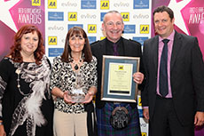 AA Friendliest B&B of the Year Finalist 2014 - 2015 award photo